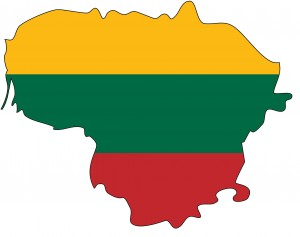 The Map-Shaped Lithuanian Flag