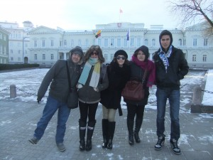 Touring the Old Town of Vilnius